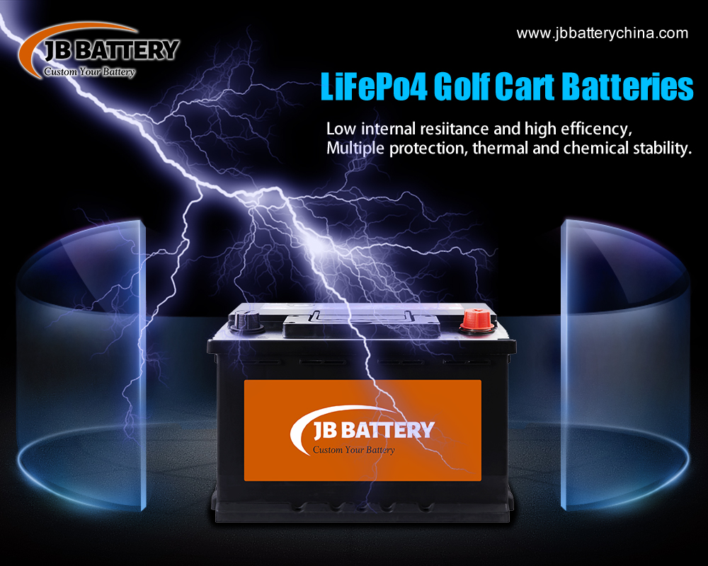 What Are The Components of 48V 5 kWh 120Ah Rechargeable Custom Lithium Ion Golf Cart Battery Pack?