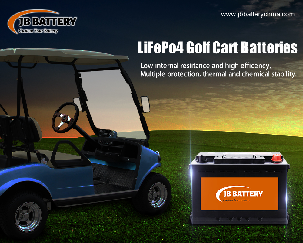 Improve performance of your golf cart with a lithium ion deep cycle battery pack