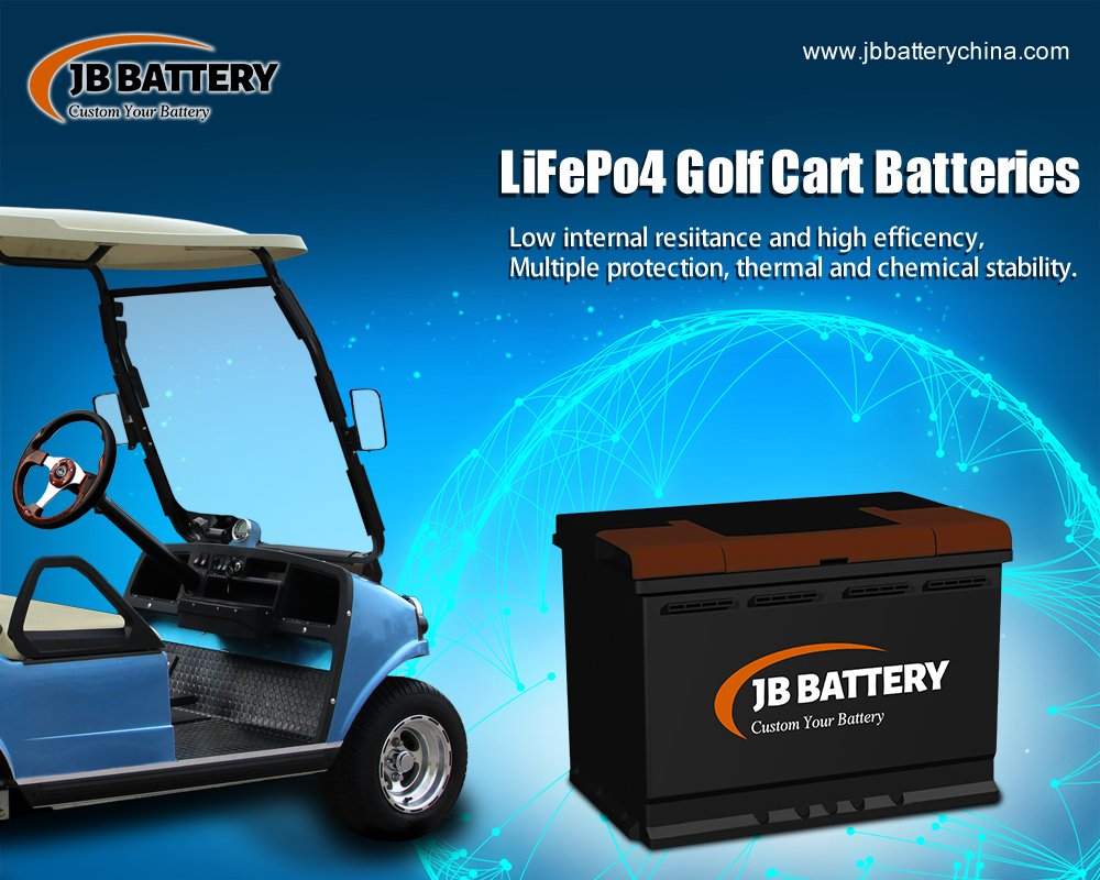 Time to consider a switch to custom lithium-ion battery pack for your golf cart