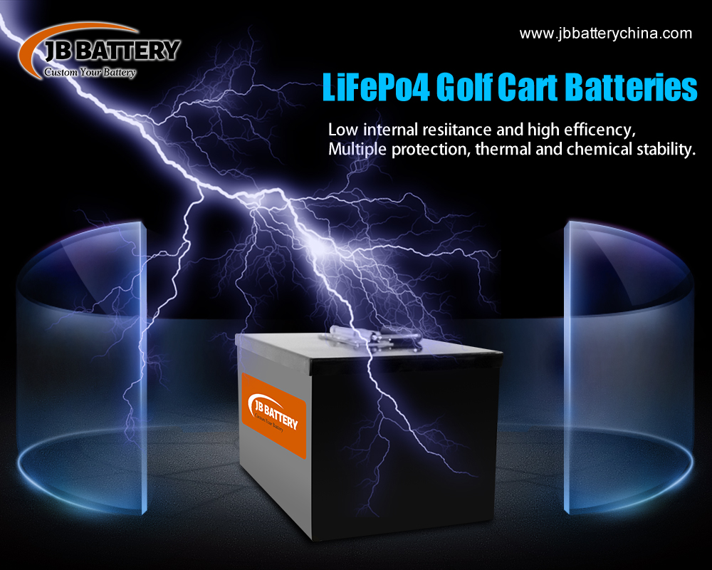 How Do You Store 48v 100ah Lithium Iron Phosphate (LifePo4) Golf Cart Battery?